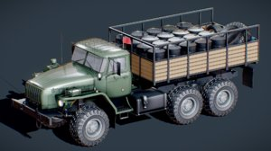 3D vehicle car truck model