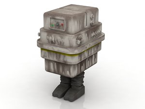 3D gonk star wars character