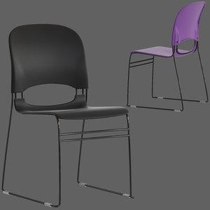 designed herman miller limerick 3D model
