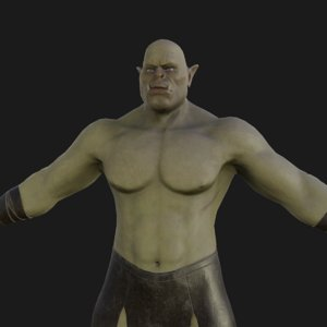 3D orc based