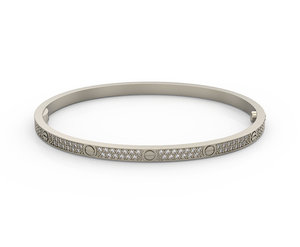 bracelet love 3D