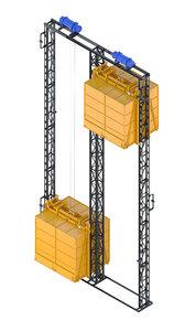 - elevator corona 3D