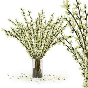 branches vase 3D