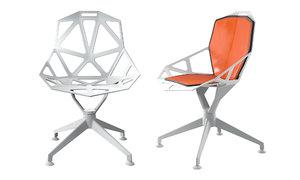 3D chair 4 star magis model