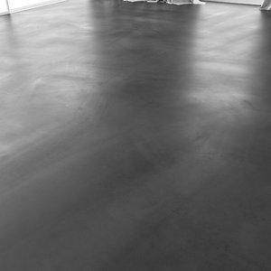 3D bulk floor model
