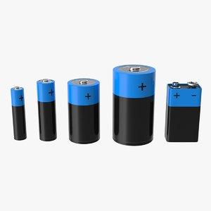 3D battery set
