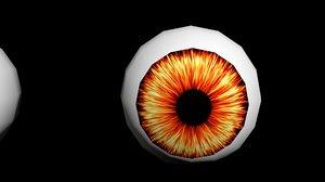 eyes balls model