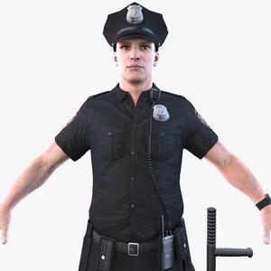 police officer 2020 pbr model
