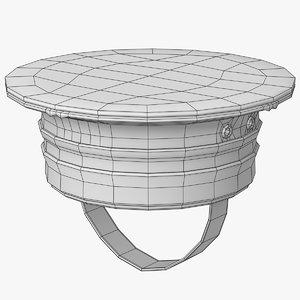 sailor hat 3D model