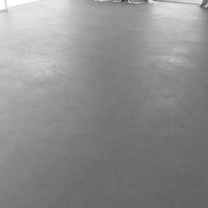 concrete floor model