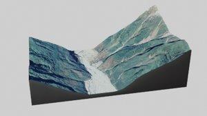 mountain desert landscape 3D