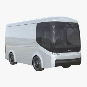 arrival electric delivery van 3D