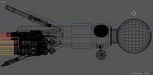 detect space 3D model