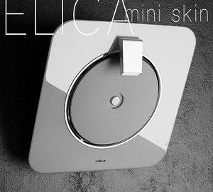 3D range hood elica mini model