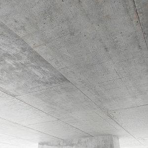 concrete ceiling 3D