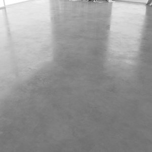 3D polished concrete floor