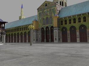 umayyad mosque model