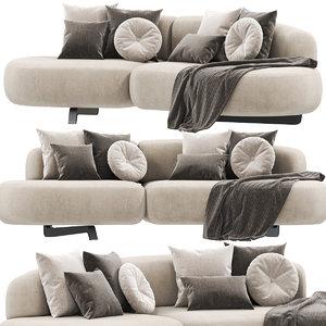 3D sofa paolo castelli vao