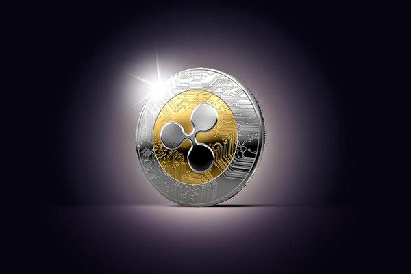 3D ripple coin model