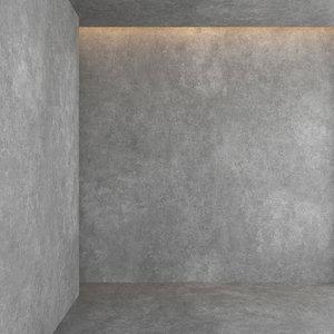 decorative concrete 3D model