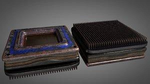3D vintage processor