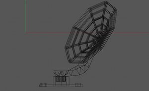 3D antenna radar
