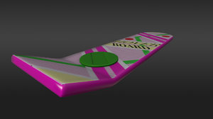 hoverboard skateboard 3D model