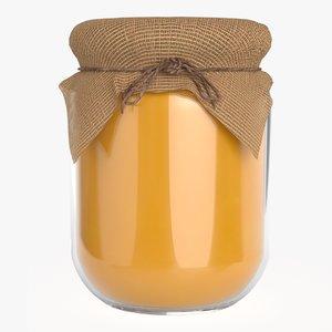 3D honey fabric jar