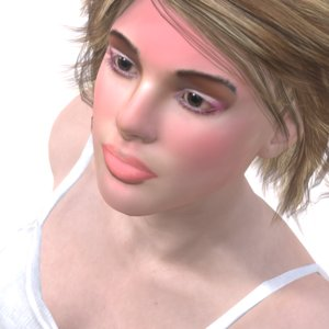 realistic sunny cw 3D model