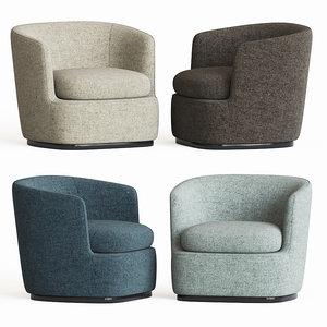 apollo armchair bebitalia 3D model