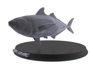 print horse mackerel 3D model