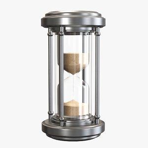 time hour sand 3D