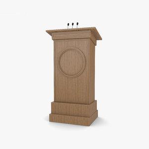 podium 3D