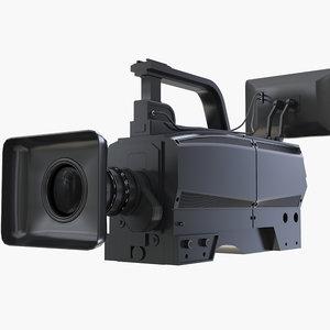 camera cam tv 3D model