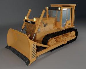 dozer bulldozer b10 3D model