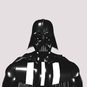 force ready darth vader model