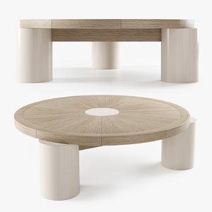 3D mesa centro coffee