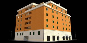3D building 13