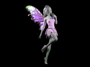 3D dress pixie