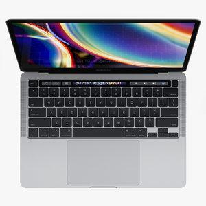 3D macbook pro 13-inch 2020
