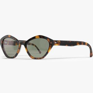 eyeglasses glasses eyewear 3D