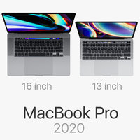 Apple MacBook Pro 16-inch and 13-inch 2020