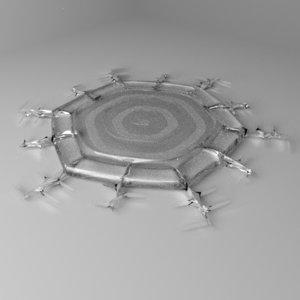 snowflake 13 3D