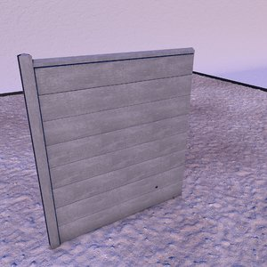 3D fences landscape garden