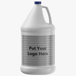 gallon jug 3D model