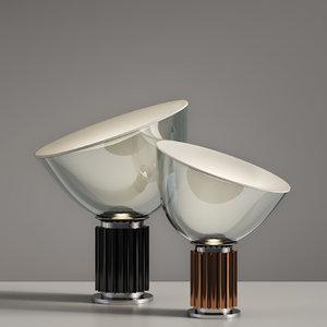 taccia table lamp small 3D model