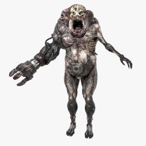 monster creature 3D