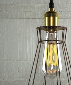 hanging lamp 13 loft 3D model