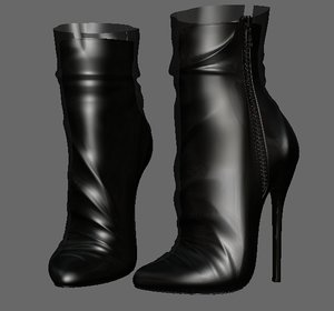 3D model shoeshighheelboot