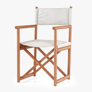 paraggi yacht chair 3D
